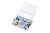 Haftnotizblock Cover Karton 100 x 72 white