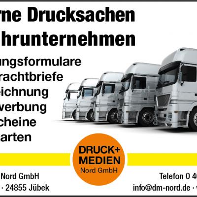 Drucksachen für die Transport- und Logistikbranche