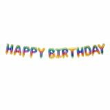 Luftballonkette Happy Birthday 3,50 m